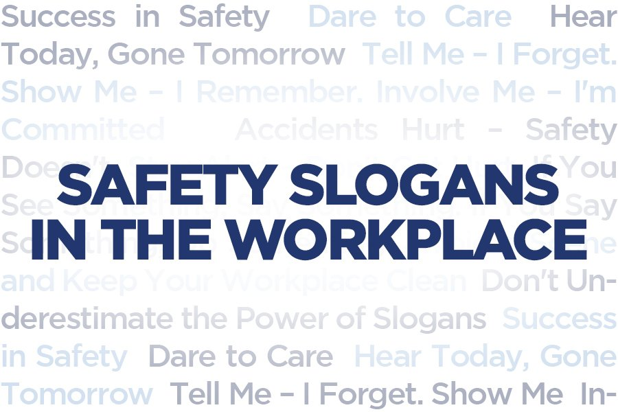 Safety Slogans in the Workplace - Howarths - HR Support - Employment